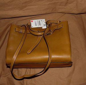 Zara leather purse
